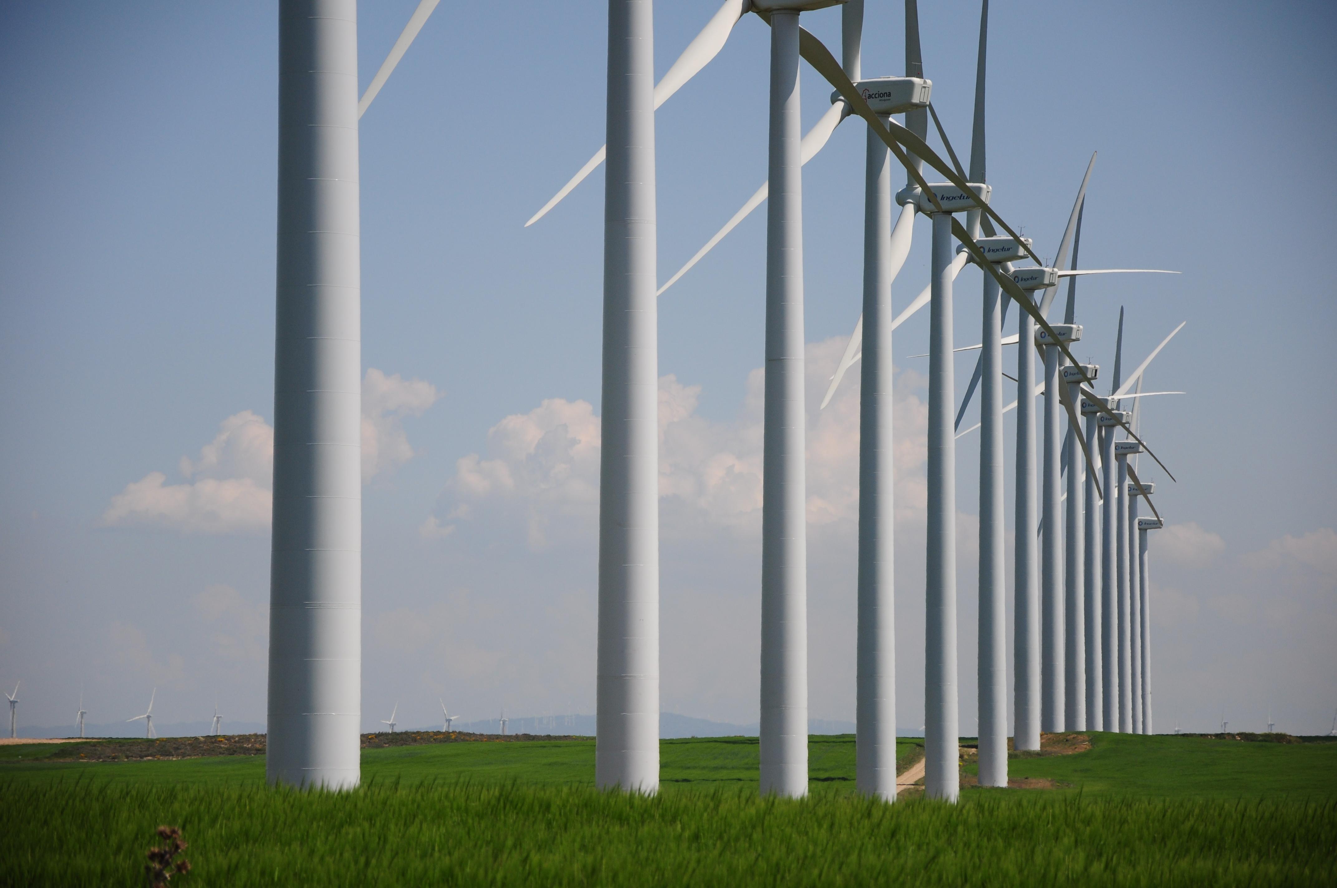 La eólica ya representa el 3% del consumo eléctrico mundial