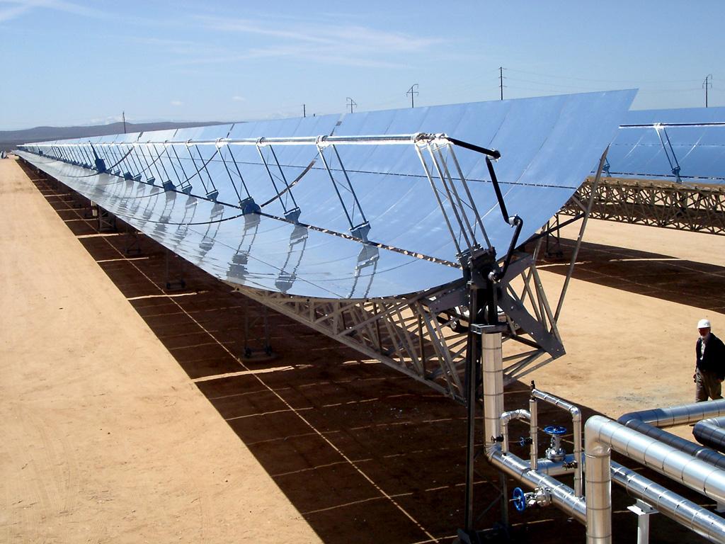 Inauguración de la central termosolar La Africana