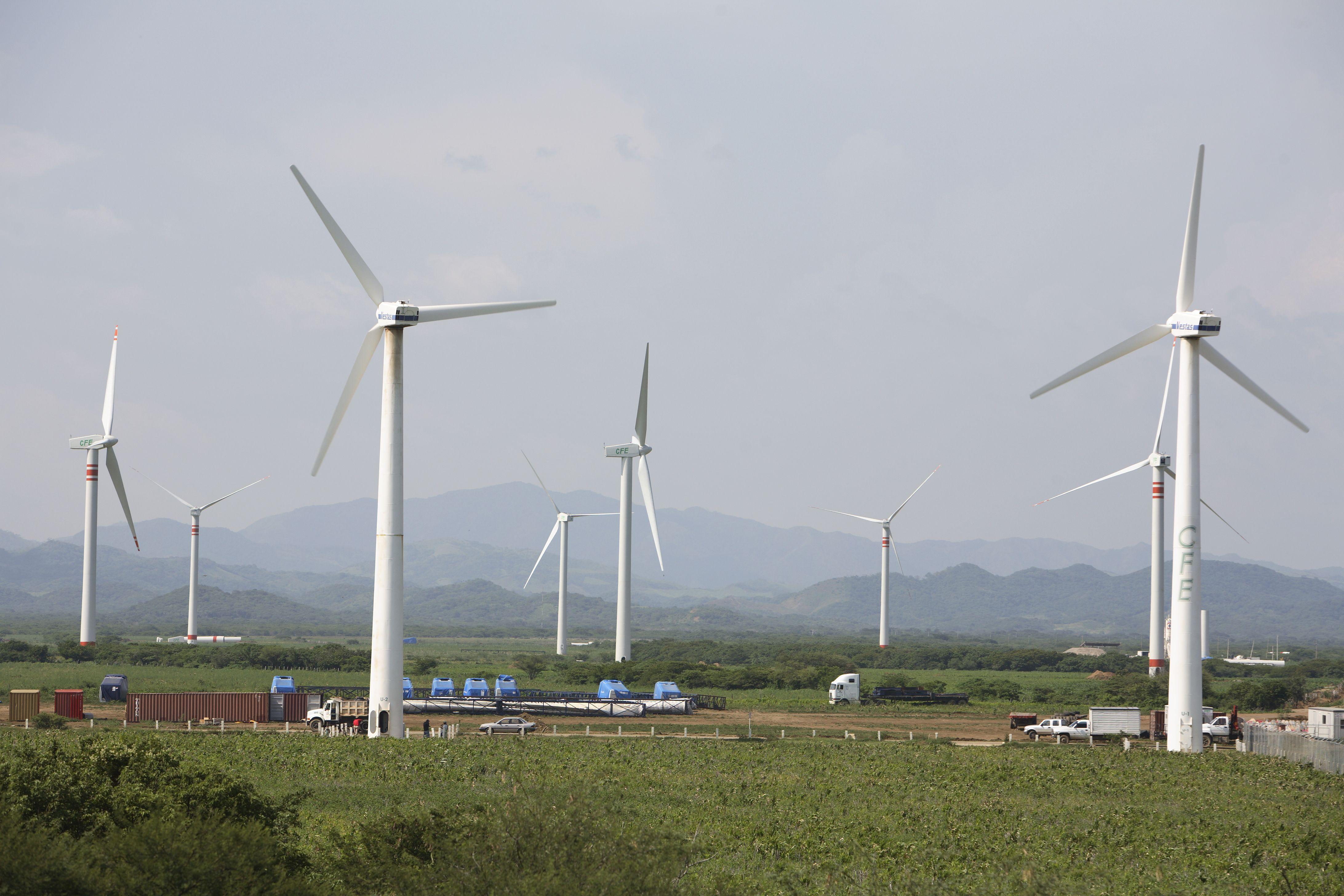 Eólica en México: proyecto eólico de Sempra con 50 aerogeneradores