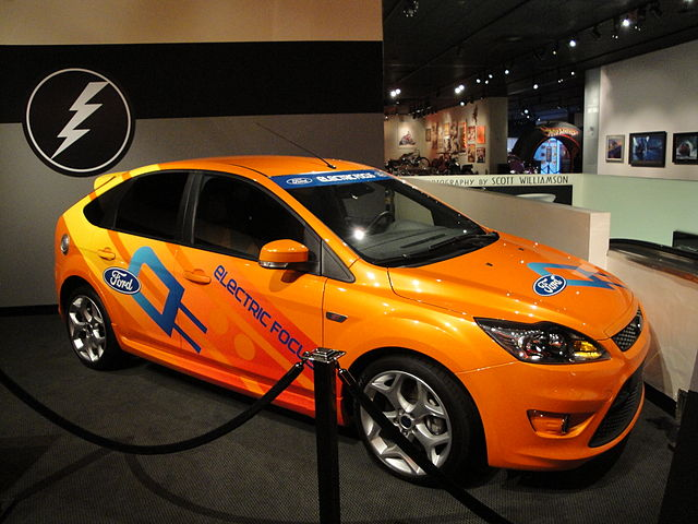 electric car Ford_Focus_EV