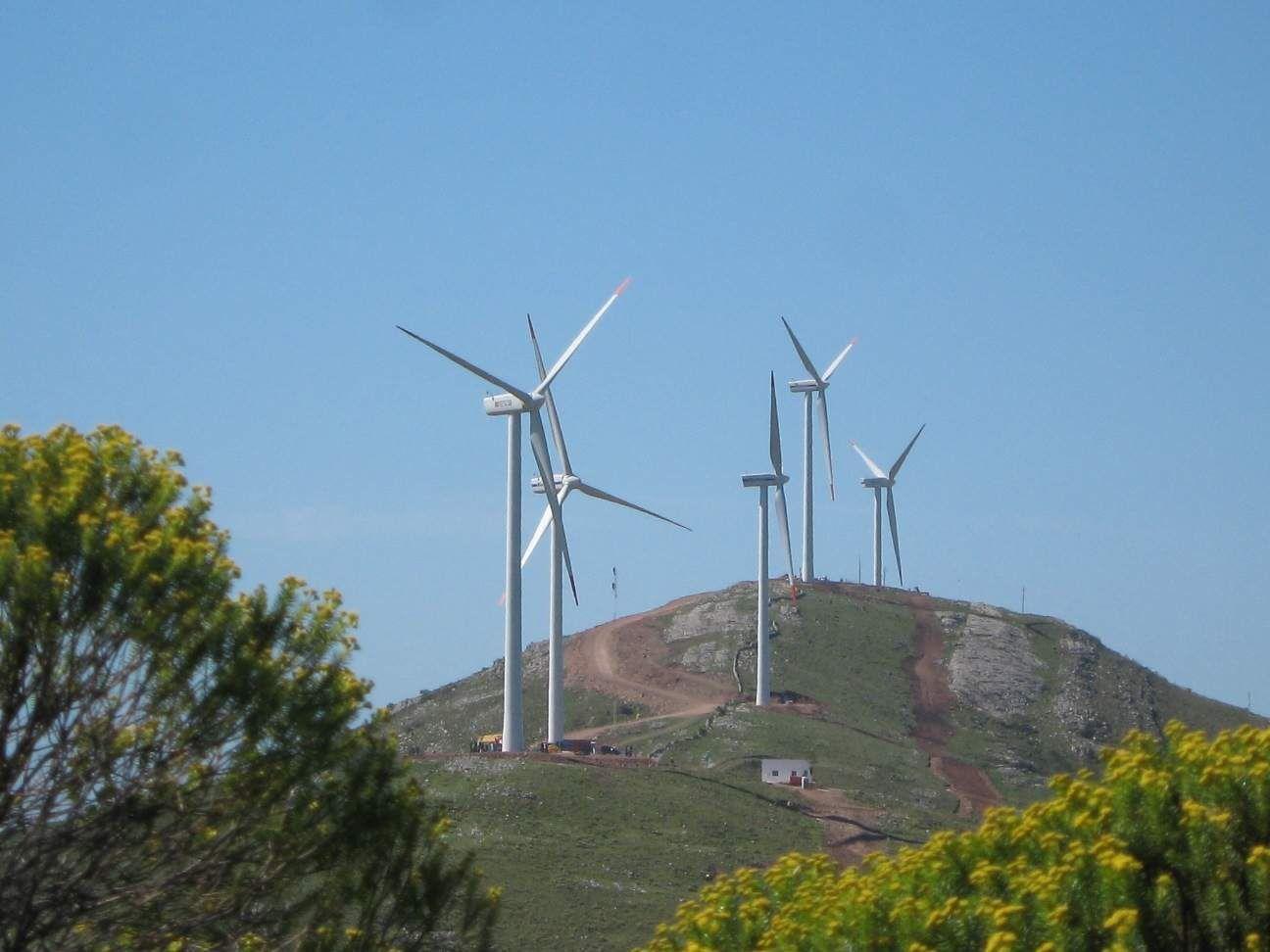 La energía eólica en Uruguay