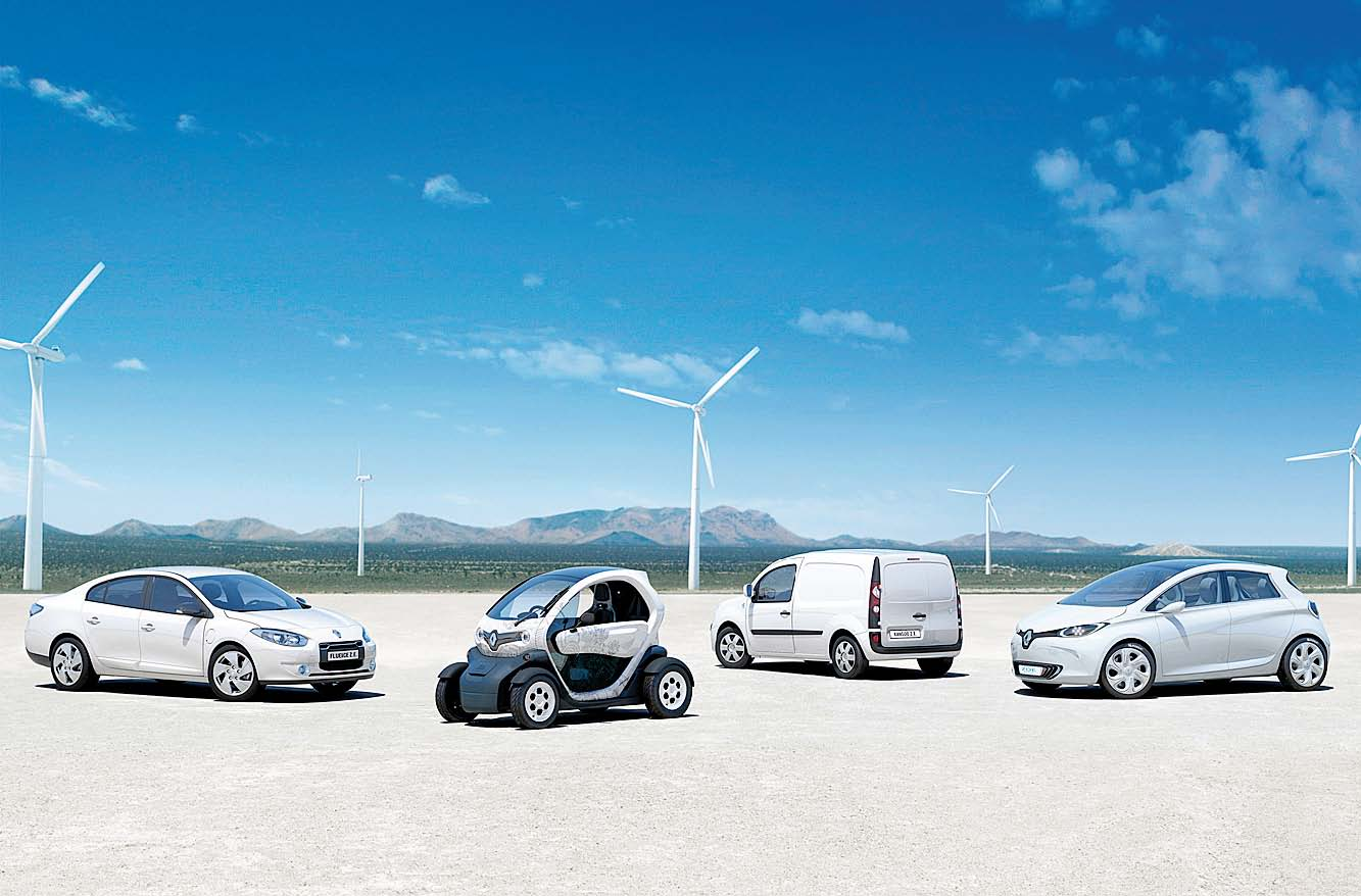 renault coches electricos