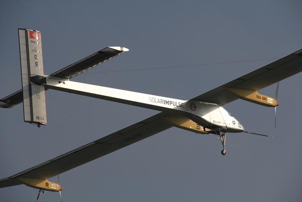 Avión Solar Impulse completó su travesía por EEUU