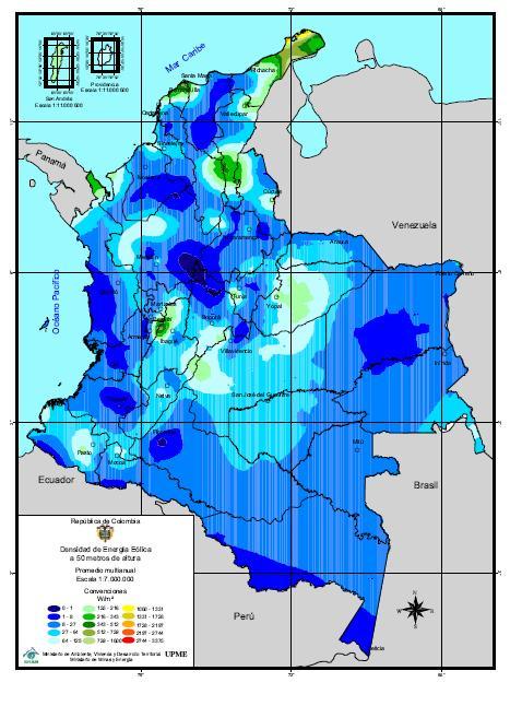 Colombia energía eólica
