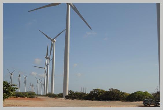 Eólica en Argentina: parque eólico en Chubut con aerogeneradores de Impsa