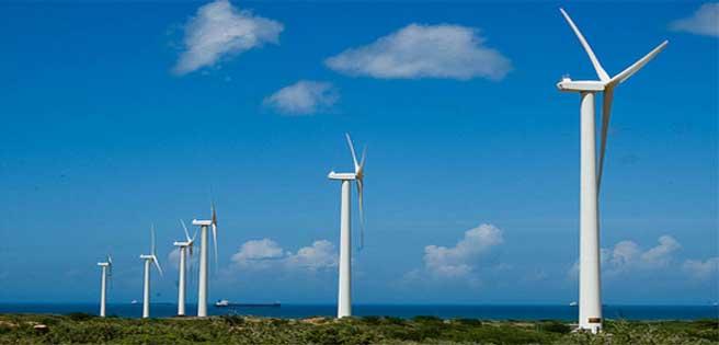 Eólica en Venezuela: Aerogeneradores del Parque Eólico Paraguaná iniciaron fase de prueba
