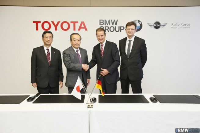 Toyota, BMW Team Up on Green Battery