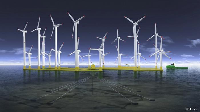 Construirán una isla en forma de dona para almacenar energía eólica en Bélgica