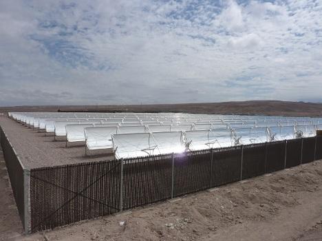 Chile proyecta una central termosolar de 50 MW