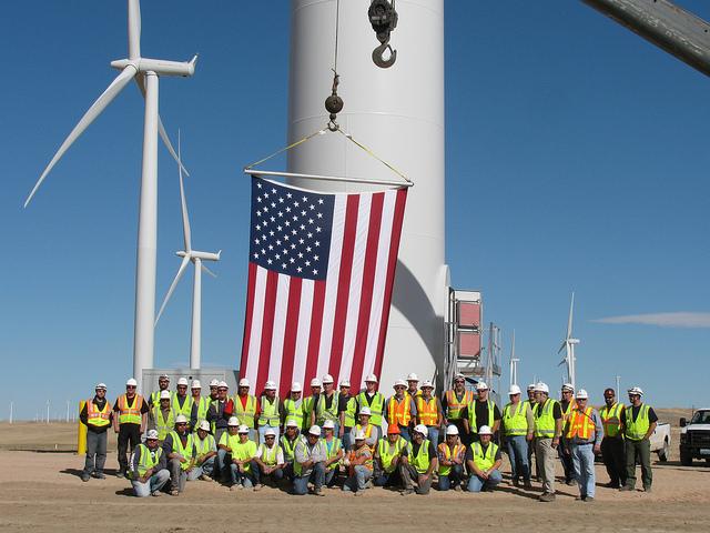 Energía eólica en Estados Unidos alcanza nuevo récord de 13.124 MW eólicos y llega a 60.000 MW