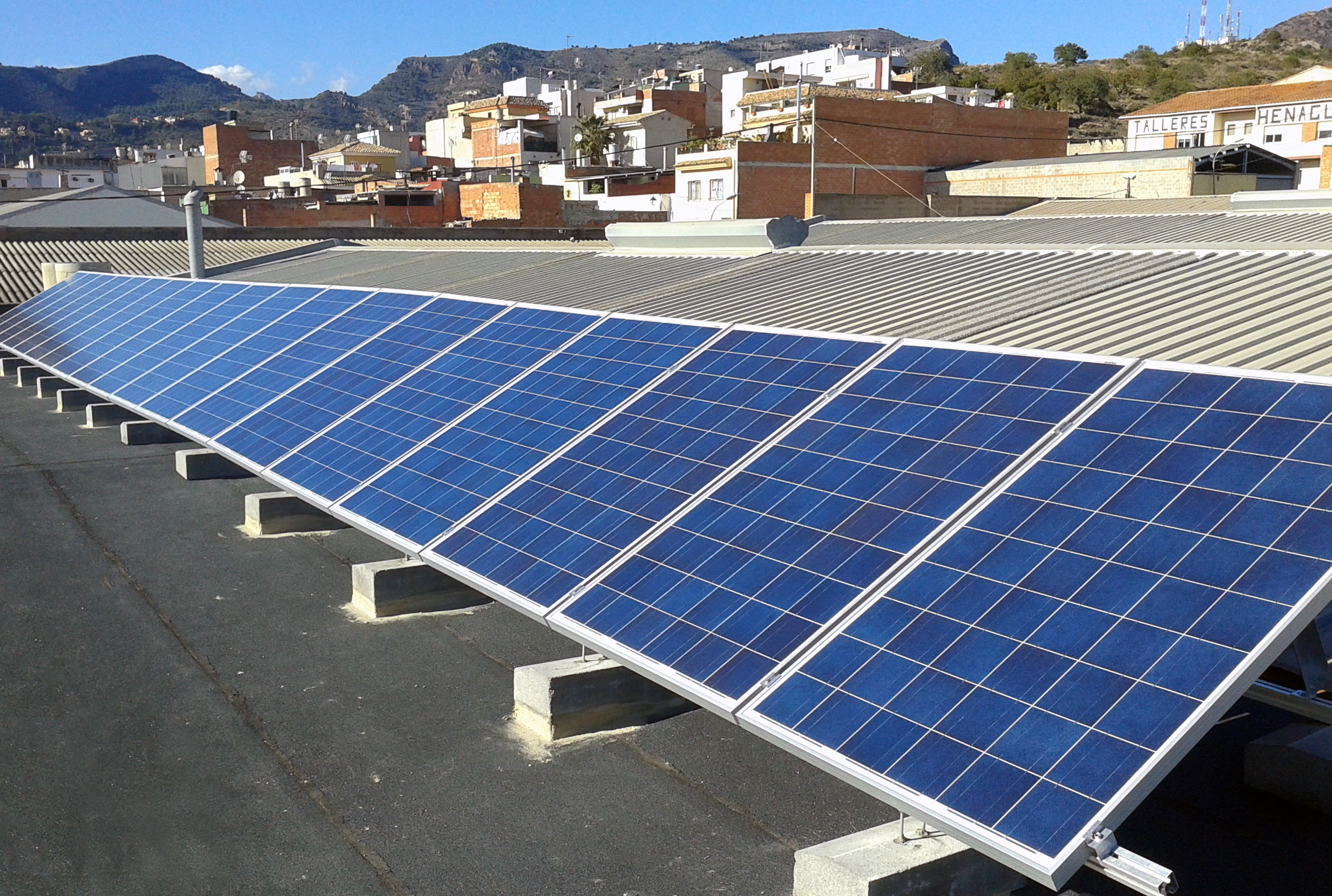 Tejados de energía solar fotovoltaica compartidos entre la ciudadanía