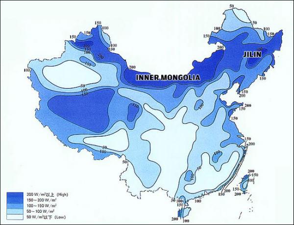 Eólica en China: poca utilización de los aerogeneradores del sector eólico