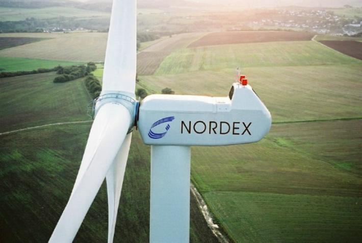 nordex eólica eóico aerogeneradores