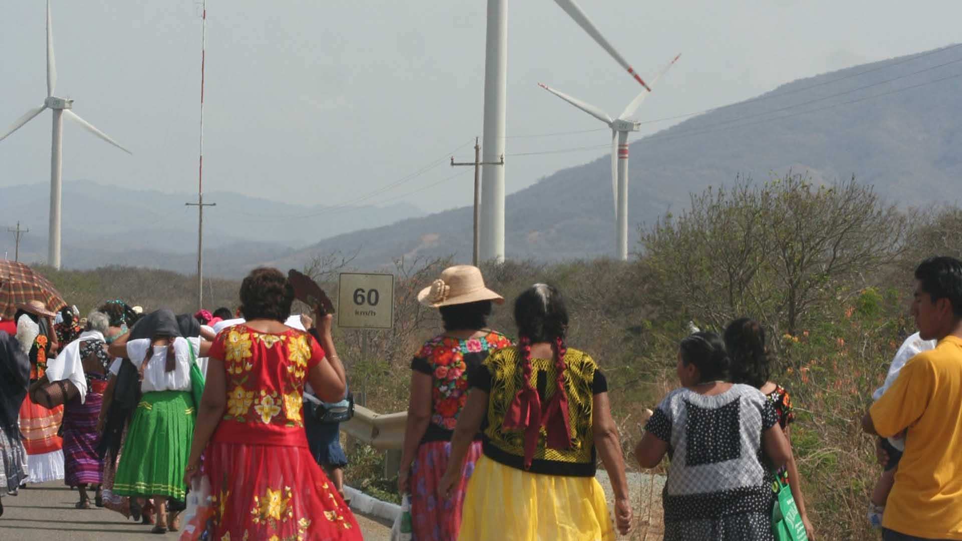Eólica y energías renovables en México: Parque eólico de Mareña en Oaxaca con aerogeneradores de Vestas