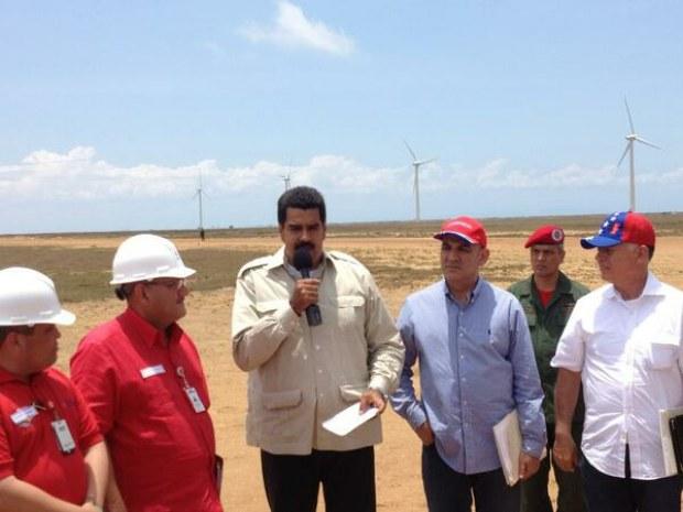 Eólica en Venezuela: visitan los aerogeneradores Parque Eólico La Guajira