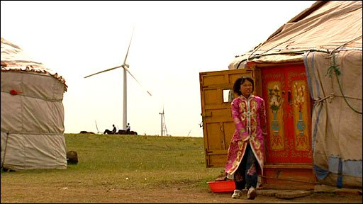Mongolia wind energy 2