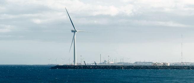 Eólica marina: Aerogeneradores de Gamesa para el sector eólico.