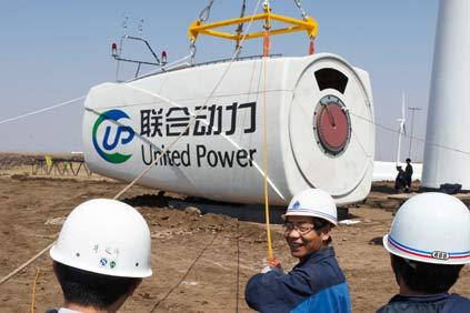 Eólica en China: Construyen parque eólico con 33 aerogeneradores situado a la mayor altura del mundo en Tíbet