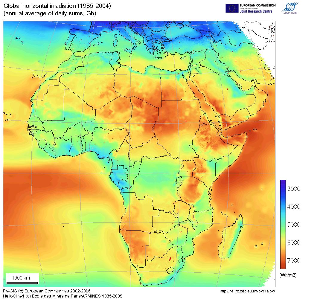 Africa Solar-energy