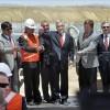 El presidente de Chile, Sebastián Piñera, inauguró hoy la nueva central termosolar 'Pampa Elvira', de la división
