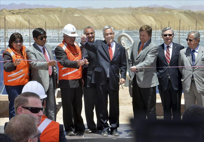 Chile apuesta por las energías renovables, eólica, termosolar y energía solar fotovoltaica