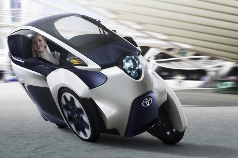 Vehículo eléctrico: Toyota decide producir el coche eléctrico i-ROAD