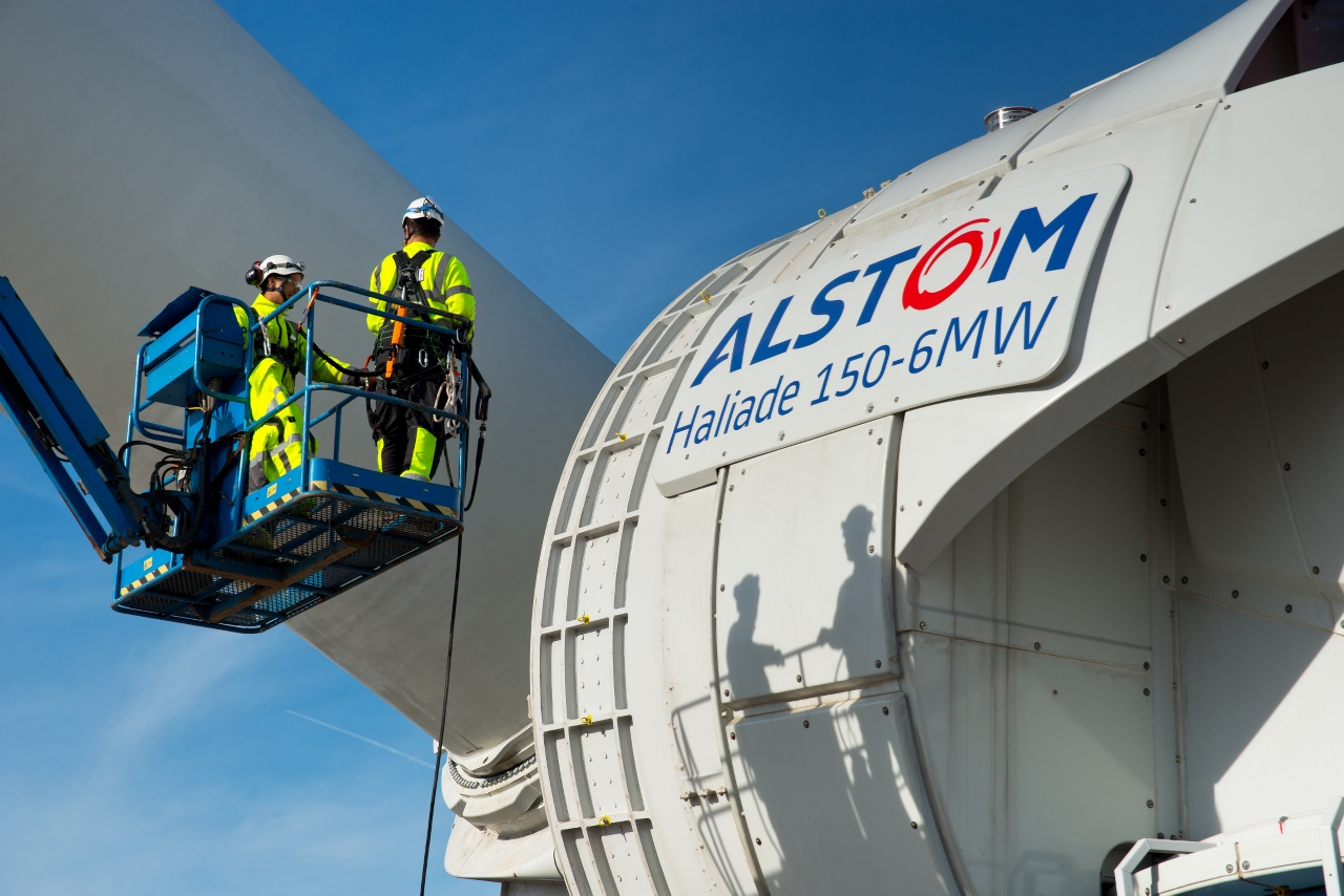 Alstom-offshore-wind power