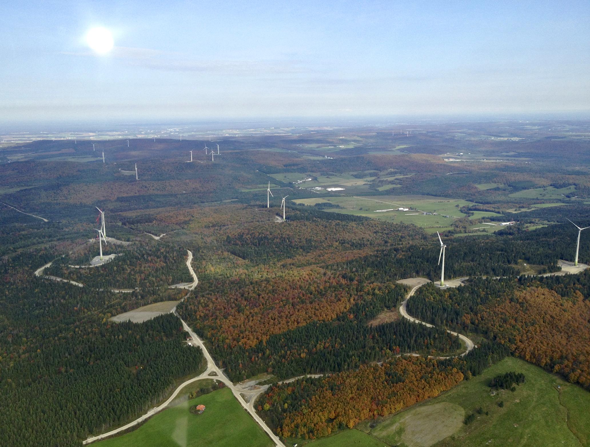 Eólica y energías renovables: Elecnor instala parque eólico con 50 aerogeneradores de Enercon