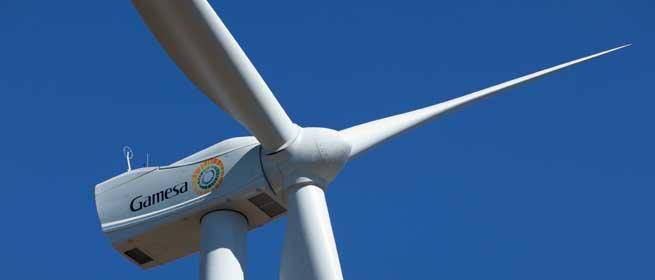 Eólica y energías renovables: Gamesa suministrará 105 aerogeneradores en Brasil para parques eólicos.
