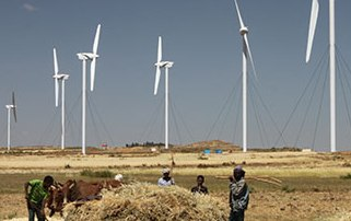 Ethipia wind farm ashegoda