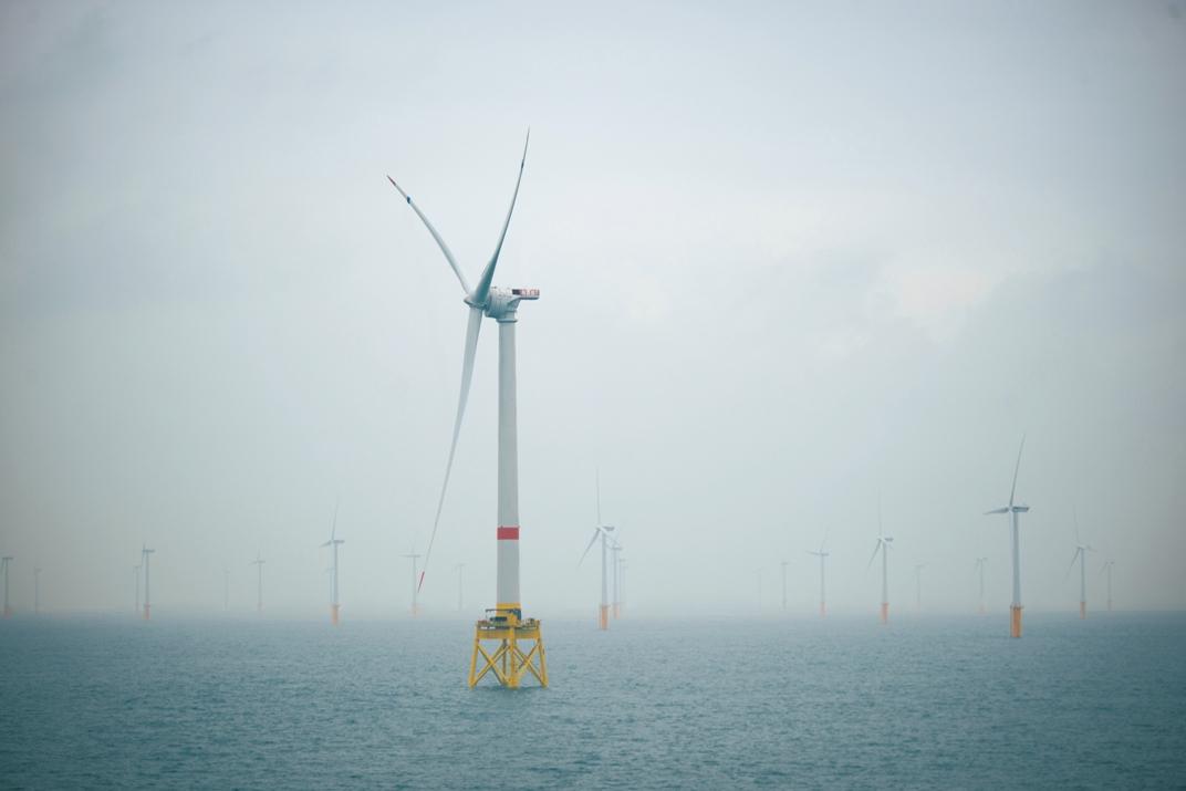 Eólica marina: Navantia entrega a Iberdrola instalación energética