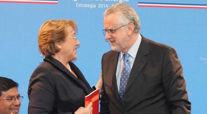 Bachelet energía