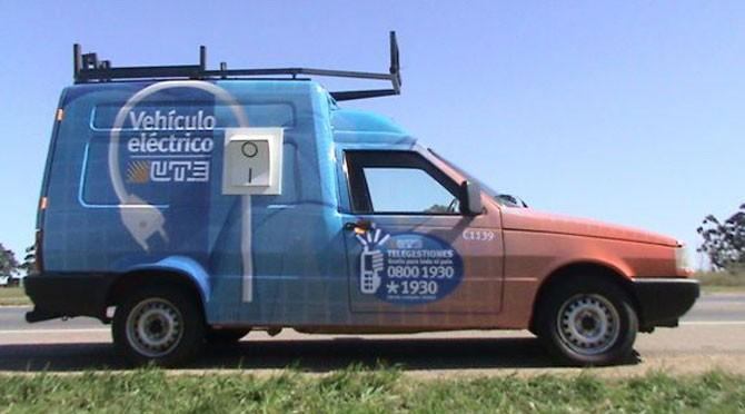Vehículos eléctricos para UTE, la primera empresa latinoamericana en hacerlo.