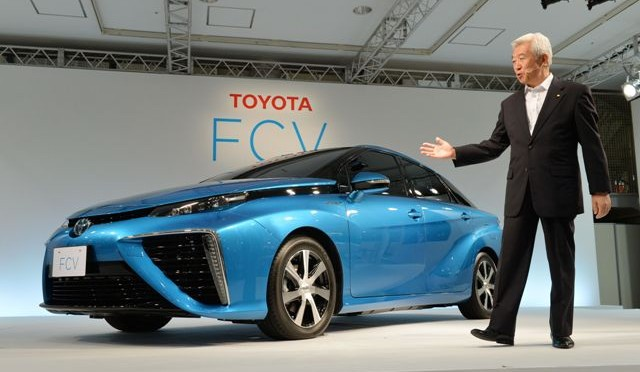 JAPAN-TRANSPORT-ENVIRONMENT-TOYOTA-AUTOMOBILE