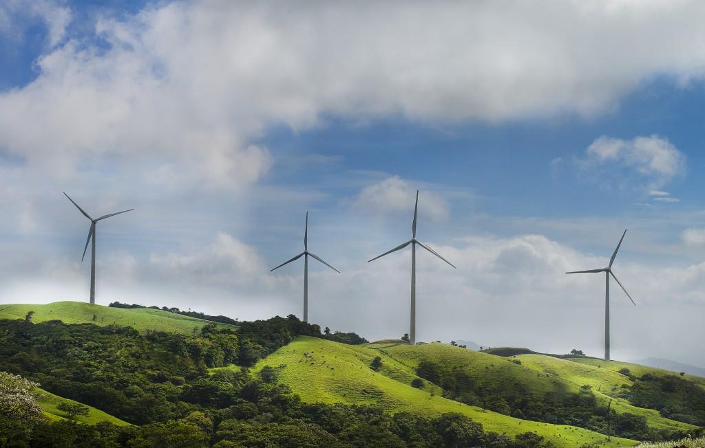 Eólica y energías renovables: Primer parque eólico en Costa Rica de Acciona con 33 aerogeneradores.