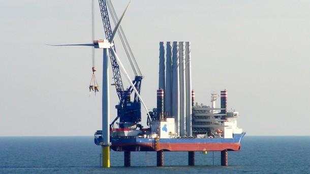 La instalación eólica tendrá dos aerogeneradores de cinco megavatios y otros dos de ocho.
