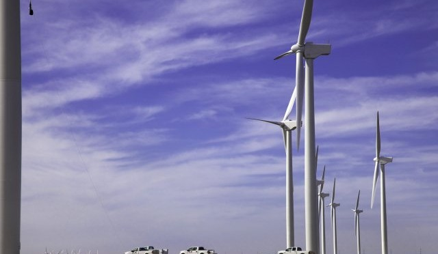 Eólica y energías renovables en EE UU: Iberdrola inicia parque eólico con 101 aerogeneradores de Gamesa.