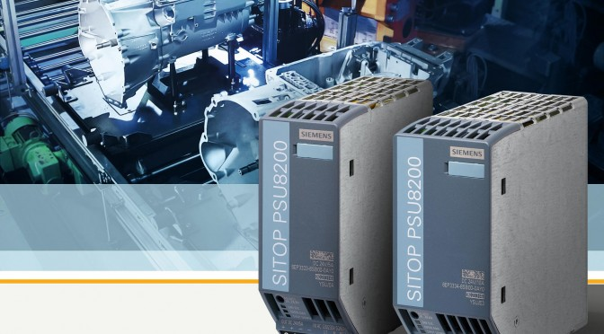 Platzsparende 24-V-Stromversorgungen mit hoher Effizienz / 24 V DC power supply units save space and boost efficiency