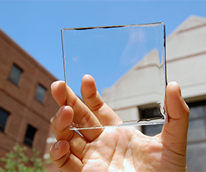 Transparent Solar Power