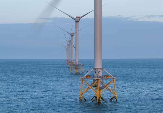 Monitorización remoto para aerogeneradores offshore