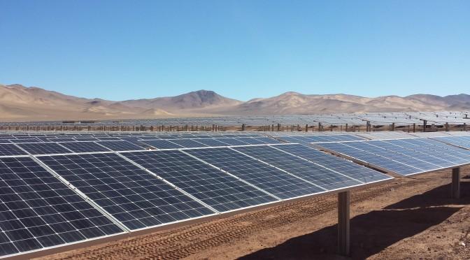 Energía solar en Chile para la minería