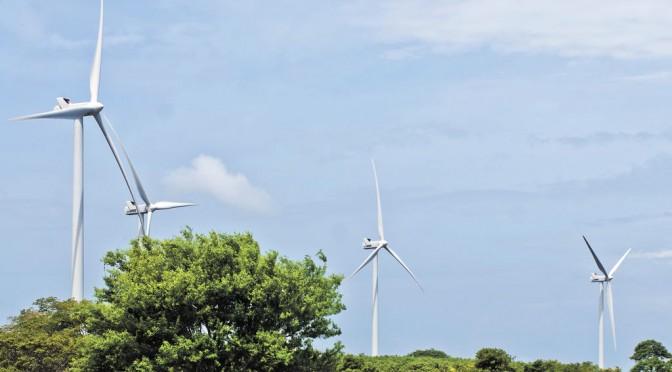 Nicaragua eólica Parque Eólico