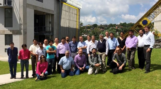 Participantes en la reunión  de seguimiento del proyecto STAGE-STE en la sede de IER-UNAM en México (800x470)