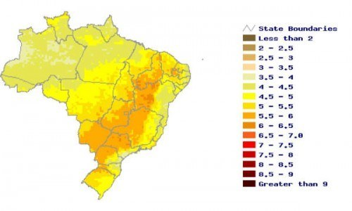 brazil-solar-map