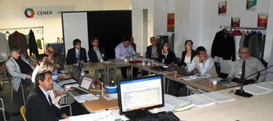 Proyecto EUROSUNMED en el Centro Nacional de Energías Renovables (CENER).