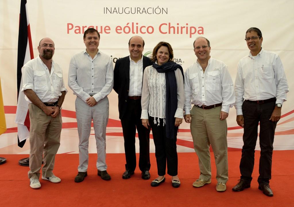 Eólica en Costa Rica: Accciona inaugura su primer parque eólico