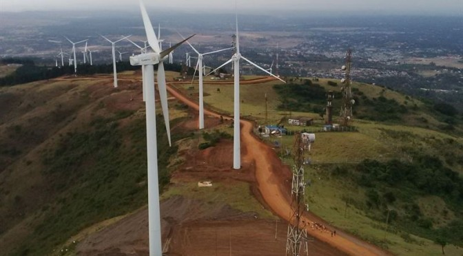 Eólica en Kenia: Iberdrola finaliza su primer parque eólico con aerogeneradores de Gamesa.