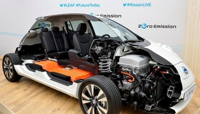 Vehículo eléctrico: Nissan desarrolla coche eléctrico Leaf con 400 km de autonomía