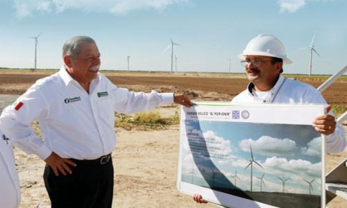 Eólica en Tamaulipas: 26 parques eólicos en desarrollo.