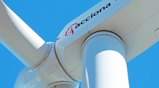 Eólica en México: Acciona fabrica torres eólicas para aerogeneradores en Nuevo León